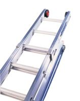 Triple Ladder 4.5m ext 11.6m Roped
